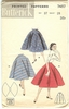 Butterick 7457 Skirt, Waist 28""