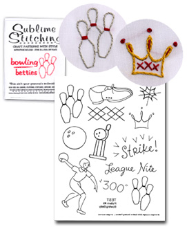 """Sublime Stitching """"Bowling Betties"""""""