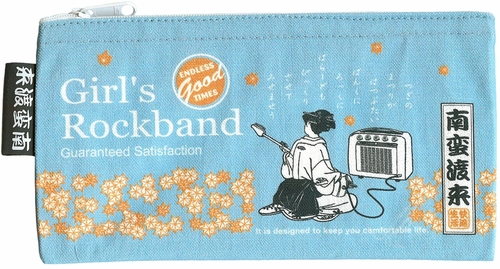 """Girl's Rockband"" Zippered Pouch"