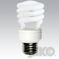 Cfli Reduced Mercury T2 Spiral Shaped Cfli, Lamps And Light Bulbs - Eiko Lamps