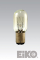 Eiko 15T7DC-130V 130V 15W T-7 DC Bayonet Base Light Bulb