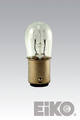 Eiko 6S6DC/6V - Light Bulb, 6V 6W S-6 DC Bayonet Base