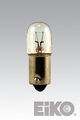 Eiko 44-A - Light Bulb, 6.3V .25A T3-1/4 Mini Bayonet Base (Painted Amber)