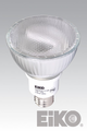 Eiko PAR30LN/15/50K - Cfli Light Bulb, Fluorescent PAR30 Long Neck 15W 120V 5000K E26 Base, 031293015235.