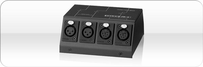 Telex JB-2 F.01U.118.900 - 3-pin/6-pin junction box.