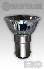 Eiko GBF-FR - Halogen Light Bulb, 12V 20W 37mm ALR FL32 DC Bayonet Base Frosted Front Glass, 031293496652.