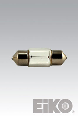 Eiko KO16XE - 13.5V .74A 5000 Hours T3-1/4 Festoon ( SV8.5mm) Base MINIATURES 031293500908 Lamps.