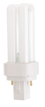 Ushio 3000141 Ushio - Light Bulbs Lamps - CF18D/841, Double Tube
