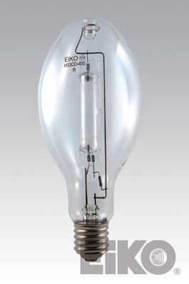 Eiko H33CD-400 - Light Bulb, 400W Clear Mercury Vapor ED-37 Mogul Base