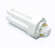 3000213 Ushio - Light Bulbs Lamps - CF18TE/835, Triple Tube