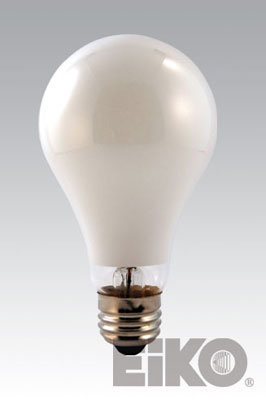 Eiko H38MP-100/DX 100W H38 A23 Med Base/Mercury Deluxe White Light Bulb