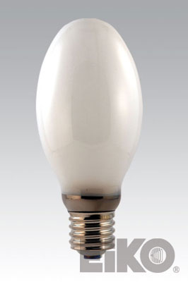 Eiko H39KC-175/DX 175W Coated Mercury Vapor E-28 Mogul Base Light Bulb