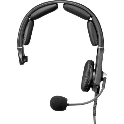 Telex MH-300-DM-QC, F.01U.149.658 - MH-300, Single-Sided Premium Lightweight Headset, Quick Connect