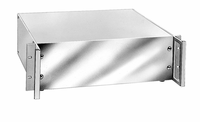 HC-14104 Bud Industries - Aluminum Enclosure-HC series-Aluminum Valuline Series with handles-L7 X W17 X D13 - Valu/Line 13D X 17W X 7H