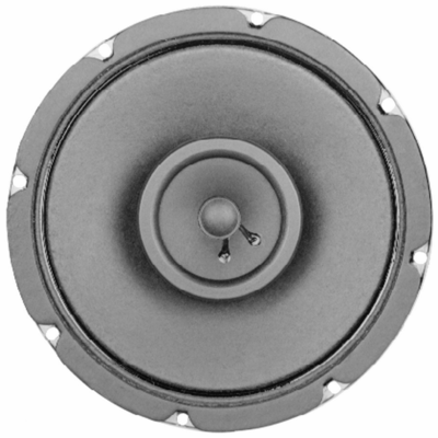 Electro-Voice EV 309-8T, F.01U.117.890 - 16-watt 8-inch standard two-way ceiling speaker with 8-watt 70.7/100-volt transformer (8-, 4-, 2- and 1-watt taps); must be ordered in multiples of 12