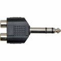 Hosa GPR-484 Adaptor Dual RCA to 1/4 in TRS Adaptors Analog.