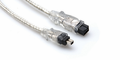 Hosa FIW-94-106 - FireWire 800 Cable, 4-pin to 9-pin, 6 ft