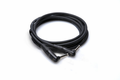 Hosa HGTR-001RR - Pro Guitar Patch Cable, REAN Right-angle to Same, 12 in