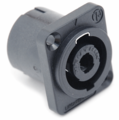 Hosa NL4MP Neutrik Connector 4-pole speakON D flange Neutrik.
