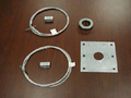 Howard Lighting - HF-SK1 Stabilizer kit: Hub, collar and 5-ft wire cable