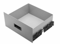 Bud Industries D-1722-MG sliding drawer Bud D1722MG Drawer SLIDING.