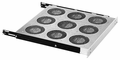 Bud Industries FT-1170-WH fan tray Bud FT1170WH FAN TRAY ONLY, NO FANS.