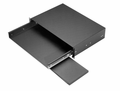 "KS-1785-MG Bud Industries - 19 inch Rack Shelves-KS series-Accessories 19"" Sliding Keyboard Mouse Shelf-L4 X W19 X D13 - Sliding Keybrd Shelf Assy"