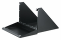 Bud Industries SA-1746 - monitor shelf w/fold-up keybrd
