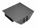 "SA-1796-MG Bud Industries - 19 inch Rack Shelves-SA series-Accessories 19"" Open Rack Monitor Shelf-L19 X W18 X D5 - Monitor Shelf Assembly"