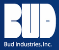 SH-12703 Bud Industries - Electronics Cabinets-SH series-Wall Mount Cabinet Emperor Series - Shelf, Fixed 300 (Sh-02Bc)