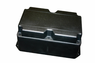 "PT-11800 Bud Industries - Plastic Boxes-PT series-Plastibox Style J Textured body with textured top-L8 X W5 X D3 - Plastibox, ""Style J"""