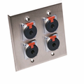 Wall Plates Analog Audio - Hosa Technology