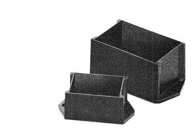 PB-1554-BF Bud Industries - Plastic Boxes-PBC series-Potting Boxes Style C-L3 X W2 X D1 - Potting Box, Style C