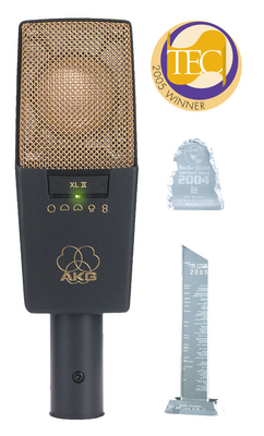 AKG C 414 XL II Large diaphragm studio microphone.