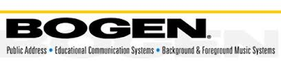 Bogen Communications - Speakers, Sound Systems and More