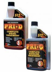 Pri-D - Diesel Treatment and PRI-G - Gas Stabilizer