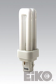 Eiko QT13/27 13W Quad-Tube 2700K GX23-2 Base Fluorescent Light Bulb