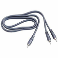 Hosa CYA-103 Y Cable RCA to Dual RCA 3 ft Y Cables Analog.