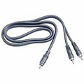 Hosa CYA-110 Y Cable RCA to Dual RCA 10 ft Y Cables Analog.