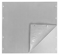 "Bud Industries SFA-1841 - Electronics Enclosure Accessories-SFA series-Accessories Surface Shield Panels-L19 X W19 X D0 - Panel, Sur-Shield 1/8"" Alum."