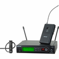 Shure - SLX14/150/O=-H5 Includes MX150 Omnidirectional Subminiature Condenser Lavalier Microphone