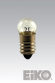 Eiko 123 1.25V .3A/G3-1/2 Mini Screw Base Light Bulb