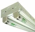 Howard Lighting FSA80432ASIMV000000I FSA8 Fluorescent Strip, 8-foot,NA, 4 Lamp 32W T8, Standard BF Instant Start Ballast Multi-Volt, No FIO's, w/o Power Cord,Individual Carton.