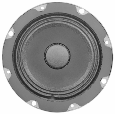 Electro-Voice EV 205-4T, F.01U.117.418 - 10-watt 4-inch utility ceiling speaker with 4-watt 70.7-volt transformer (4-, 2-, 1- and 0.5-watt taps); must be ordered in multiples of 12
