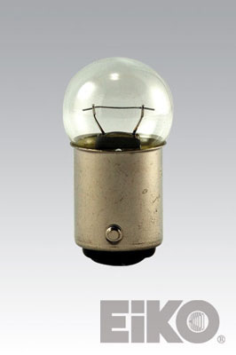 Eiko 90-BP - Light Bulb, 13V .58A (41006)/G-6 DC Bayonet Base (2 BP)
