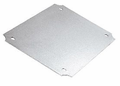 Bud Industries PNX-91431 - NEMA Box Accessories-PNX series-Aluminum Internal Panels For PN Series-L3 X W3 X D0 - Internal Panel, Alum