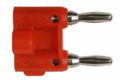 Hosa BNA-100 Connector Dual Banana 2 pc Connectors Analog.