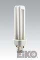Eiko QT13/G24D1/50 13W Quad-Tube 5000K G24D-1 Base Fluorescent Light Bulb