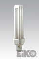 Eiko QT18/27 18W Quad-Tube 2700K G24D2 Base Fluorescent Light Bulb