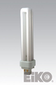 Eiko QT26/65-4P 26W Quad-Tube 6500K G24q3 4 Pin Base Fluorescent Light Bulb